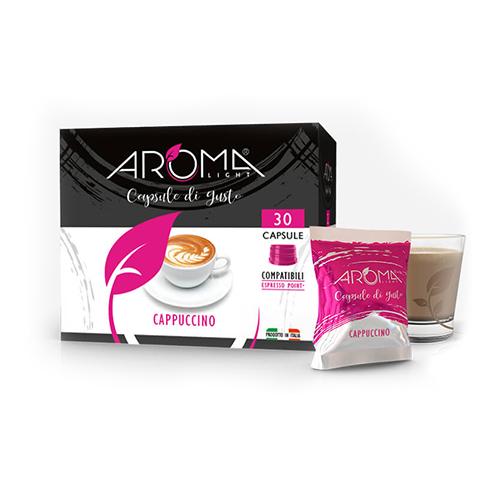 cappuccino aroma light capsule compatibili espresso point