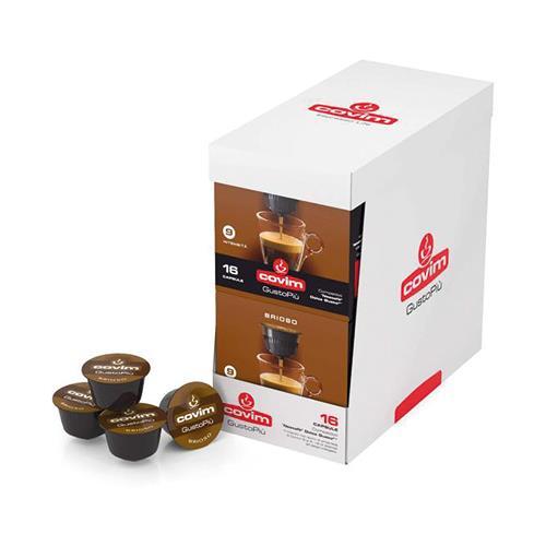 covim brioso capsule gustopiù caffè compatibili nescafé dolce gusto
