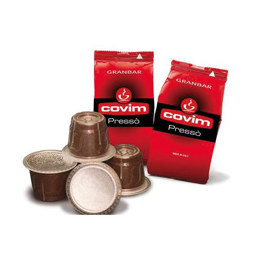 caffè covim nespresso compatibili capsule granbar pressò