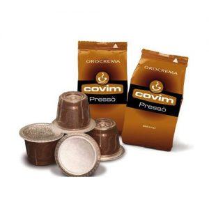 covim capsule compatibili nespresso capsule orocrema presso