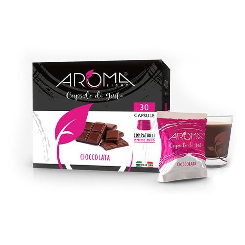 cioccolata aroma light capsule compatibili lavazza espresso point
