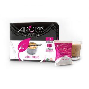 crème brûlée aroma light capsule compatibili espresso point