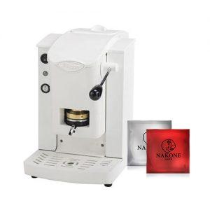 macchina caffè faber slot bianco cialde omaggio