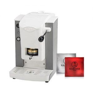 macchina caffè faber slot grigio cialde omaggio
