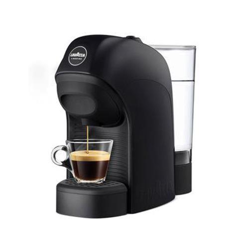 macchina caffè a modo mio lavazza tiny nera
