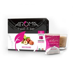 nocciolino aroma light capsule compatibili espresso point