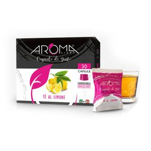 tè limone aroma light capsule compatibili espresso point