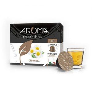 camomilla aroma light capsule compatibili caffitaly