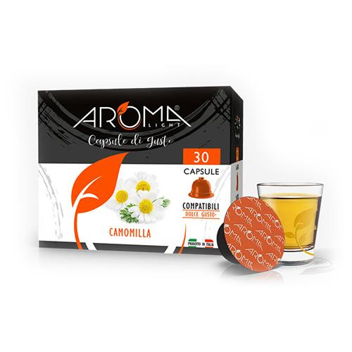 camomilla aroma light capsule compatibili dolce gusto
