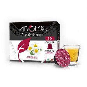 camomilla aroma light capsule compatibili nespresso
