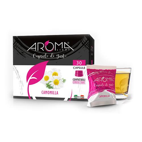 camomilla aroma light capsule compatibili espresso point
