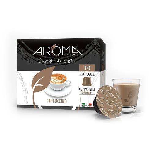 cappuccino aroma light capsule compatibili caffitaly