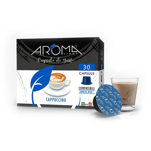 capsule cappuccino aroma light compatibili lavazza blue