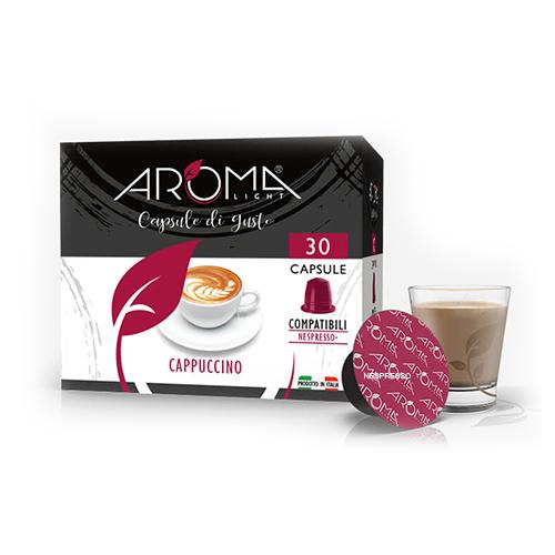 cappuccino aroma light capsule compatibili nespresso