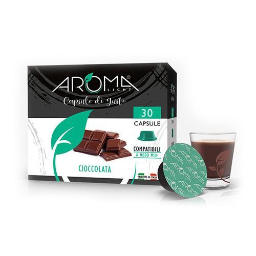 cioccolata aroma light capsule compatibili lavazza a modo mio