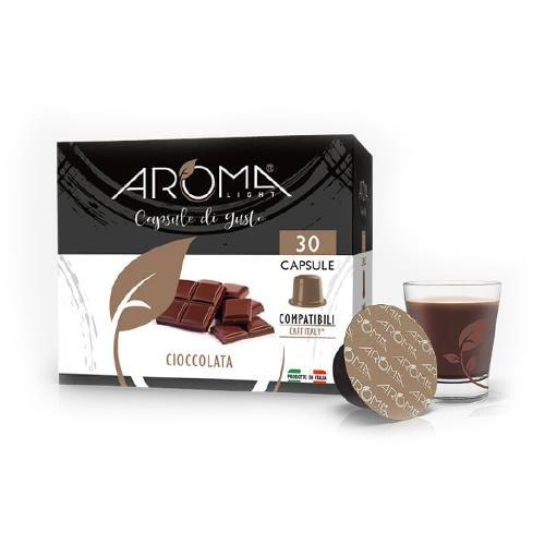 capsule cioccolata aroma light compatibili caffitaly