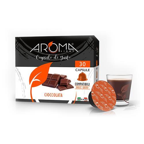cioccolata aroma light capsule compatibili dolce gusto