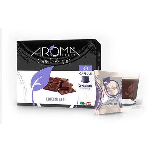aroma light cioccolata capsule compatibili uno system
