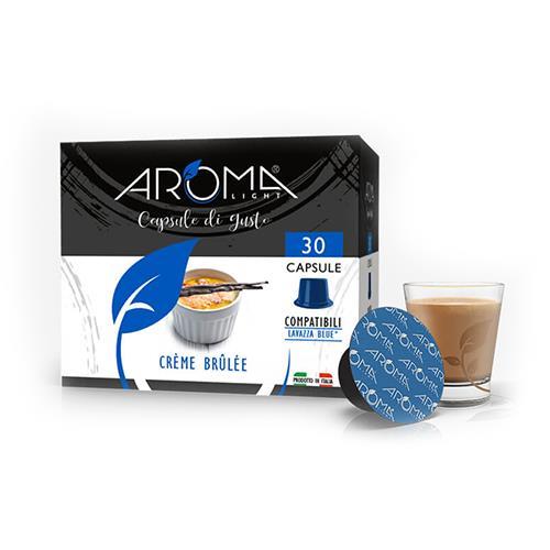 capsule crème brûlée aroma light compatibili lavazza blue