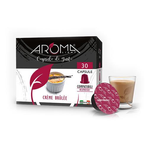 crème brûlée aroma light capsule compatibili nespresso