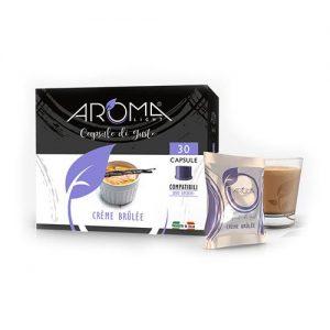 aroma light crème brûlée capsule compatibili uno system