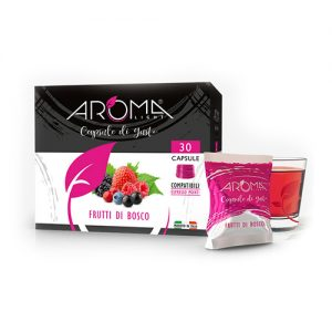 frutti di bosco aroma light capsule compatibili espresso point