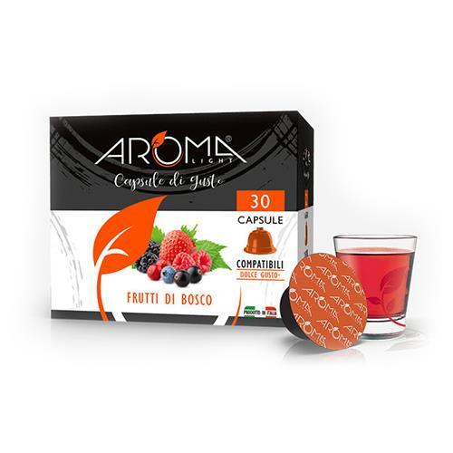 frutti di bosco aroma light capsule compatibili dolce gusto