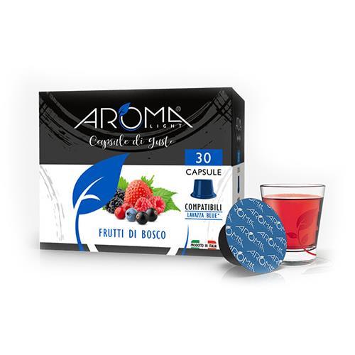 capsule frutti di bosco aroma light compatibili lavazza blue
