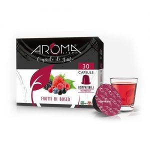 tisane frutti di bosco aroma light capsule compatibili nespresso