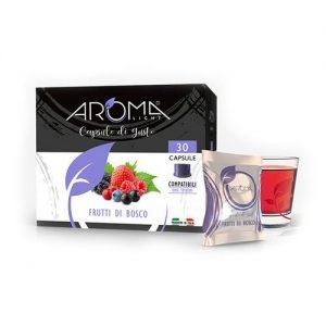 aroma light frutti di bosco capsule compatibili uno system
