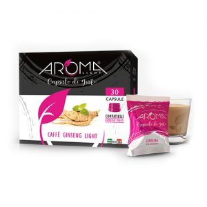 ginseng light aroma light capsule compatibili espresso point