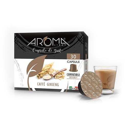 capsule compatibili caffitaly ginseng aroma light