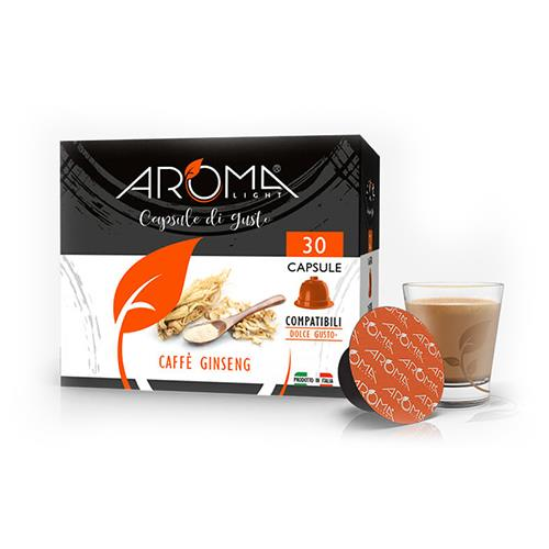 ginseng aroma light capsule compatibili dolce gusto