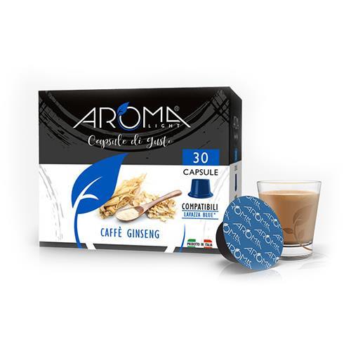 capsule ginseng aroma light capsule compatibili lavazza blue