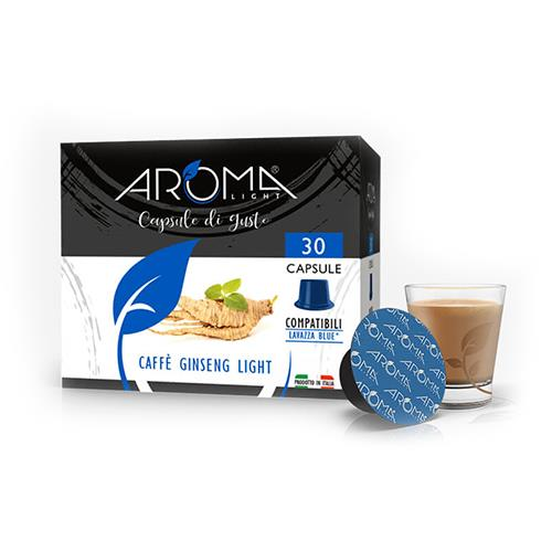 capsule ginseng light aroma light compatibili lavazza blue