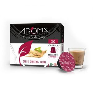 ginseng light aroma light capsule compatibili nespresso