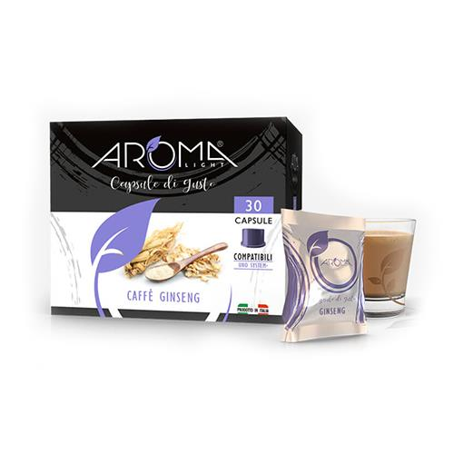 aroma light ginseng capsule compatibili uno system