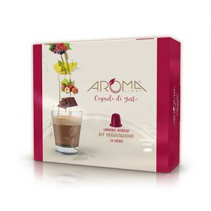 kit degustazione aroma light capsule compatibili nespresso
