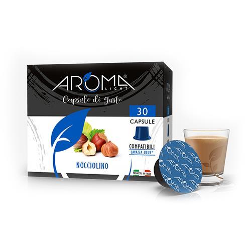 capsule nocciolino aroma light compatibili lavazza blue