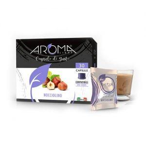aroma light nocciolino capsule compatibili uno system