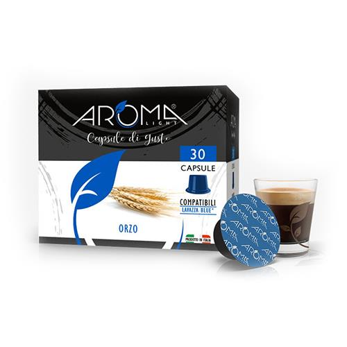 capsule orzo aroma light compatibili lavazza blue