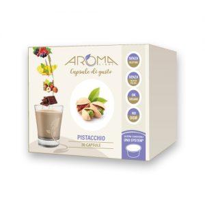 aroma light pistacchio capsule compatibili uno system