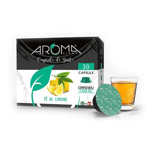 tè limone aroma light capsule compatibili a modo mio