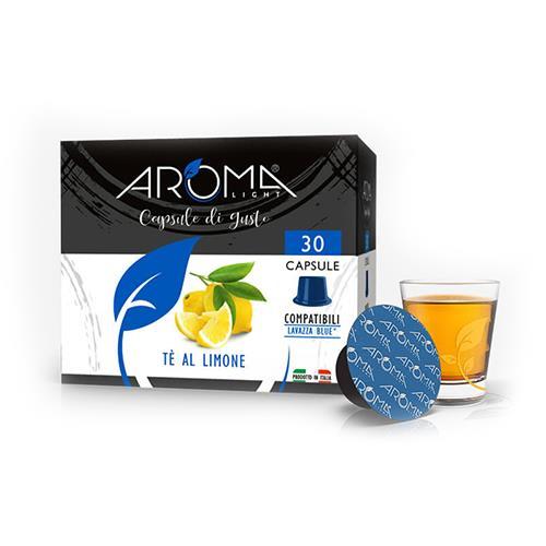 capsule tè limone aroma light compatibili lavazza blue