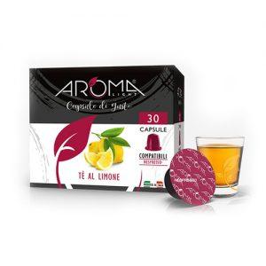 tè limone aroma light capsule compatibili nespresso