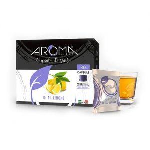 aroma light tè limone capsule compatibili uno system