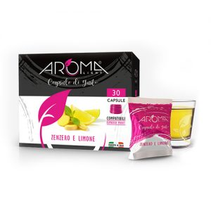 tisane zenzero limone aroma light capsule compatibili espresso point