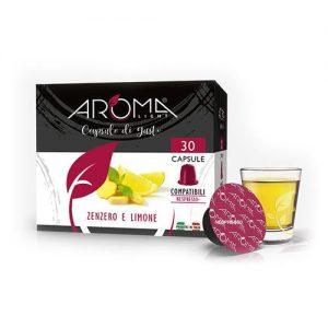 zenzero limone aroma light capsule compatibili nespresso