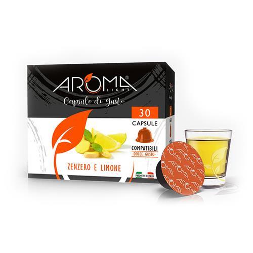 zenzero limone aroma light capsule compatibili dolce gusto