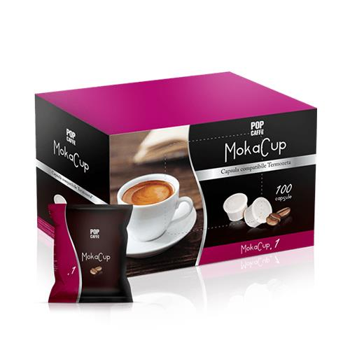 compatibili domo caffè termozeta pop caffè mokacup capsule miscela intenso
